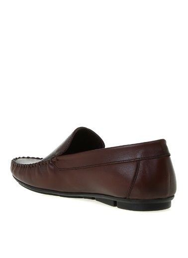 Cotton Bar Cotton Bar Kahverengi Deri Günlük Ayakkabı Kahve